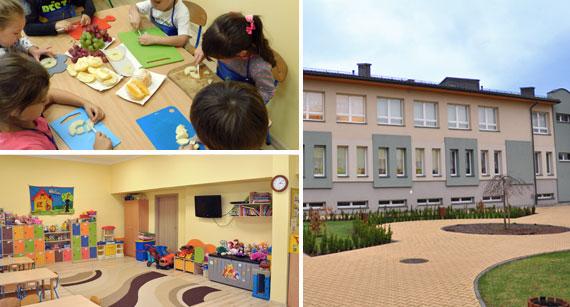 kolaż zdjęć przedszkola