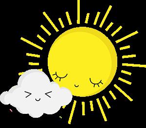 bajkowe słońce